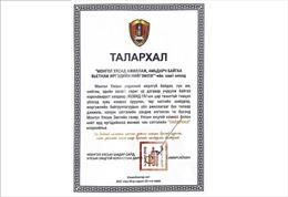 Phó Thủ tướng Mông Cổ cảm ơn cộng đồng người Việt chung tay chống dịch COVID-19