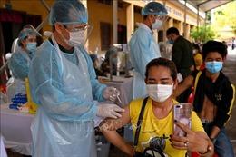 Campuchia ghi nhận thêm hàng trăm ca mắc COVID-19 mới
