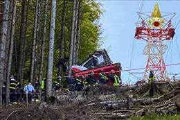 Italy: 3 người bị bắt sau vụ rơi cáp treo