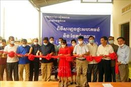 Khánh thành nhà sinh hoạt cộng đồng người gốc Việt tại tỉnh Kampot, Campuchia