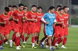 Đội tuyển Việt Nam sẵn sàng cho trận giao hữu với Jordan