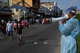 Campuchia đẩy nhanh tiến độtiêm vaccine tại 'Khu vực Đỏ'