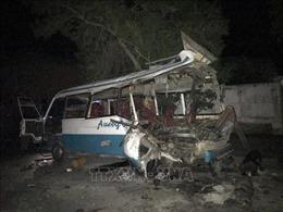 Đánh bom xe buýt tại Afghanistan, ít nhất 11 dân thường thiệt mạng