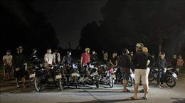 Xử phạt 20 thanh niên tụ tập đua xe trong mùa dịch