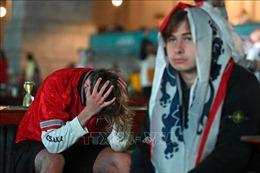 EURO 2020: Cảm xúc lẫn lộn của người Anh trên thánh địa Wembley