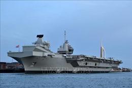 Hải quân Anh và Ấn Độ tập trận hàng hải chung