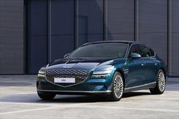 Hyundai ra mắt mẫu ô tô điện đầu tiên mang thương hiệu Genesis
