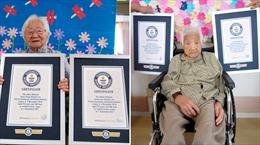 Kỷ lục Guinness ghi danh cặp song sinh cao tuổi nhất thế giới từ 'xứ hoa anh đào'