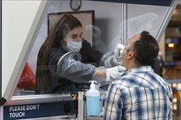 Israel thử nghiệm phương pháp xét nghiệm PCR bằng nước bọt