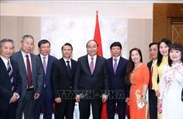 Thủ tướng Nguyễn Xuân Phúc tiếp đoàn Liên hiệp Hội người Việt Nam tại châu Âu