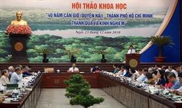 Phát triển huyện Cần Giờ thành trung tâm kinh tế biển mạnh