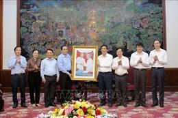 Ban Thường trực Ủy ban Trung ương MTTQ Việt Nam làm việc tại Phú Thọ