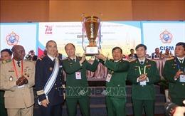 Bế mạc Phiên họp Đại hội đồng Thể thao quân sự quốc tế lần thứ74