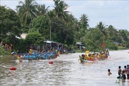 Sóc Trăng: Tưng bừng giải đua ghe Ngo truyền thống đồng bào Khmer