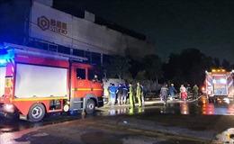 Cháy lớn phim trường ở TP Hồ Chí Minh