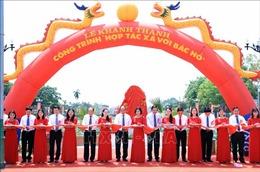 Thủ tướng Nguyễn Xuân Phúc cắt băng Khánh thành Công trình 'Hợp tác xã với Bác Hồ'