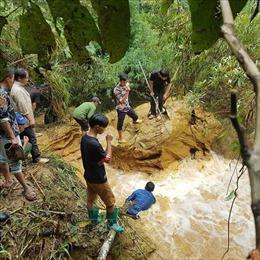 Đã tìm thấy thi thể hai nạn nhân bị đuối nước tại Si Ma Cai và Bắc Hà, Lào Cai