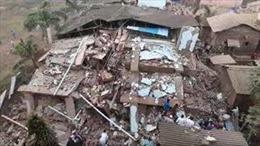 Sập nhà 5 tầng tại Ấn Độ, ít nhất 70 người bị mắc kẹt