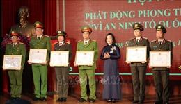 Công an tỉnh Lạng Sơn phát động phong trào thi đua 'Vì an ninh Tổ quốc' năm 2021