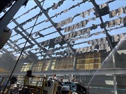 Bình Dương: Khống chế kịp thời đám cháy trong khu công nghiệp