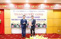 Thái Nguyên trao quyết định thành lập 3 cụm công nghiệp với tổng mức đầu tư 1.200 tỷ đồng