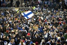 EURO2020: Ấn tượng khó quên về các cổ động viên Phần Lan