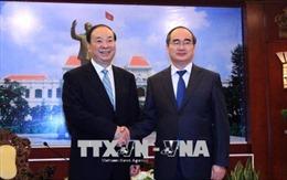 Lãnh đạo TP Hồ Chí Minh tiếp Đoàn đại biểu Đảng Cộng sản Trung Quốc
