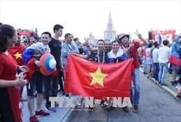 WORLD CUP 2018: Cổ động viên Việt Nam khuấy đảo Fanzone ở Moskva