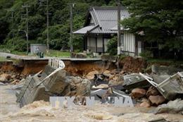 Nhật Bản: Số người thiệt mạng do mưa lũ tăng lên ít nhất 82 người