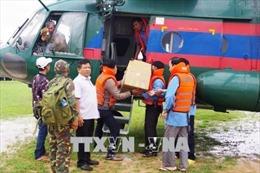 Tham gia khắc phục hậu quả vỡ đập thủy điện tại Lào