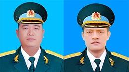 Cấp bằng 'Tổ quốc ghi công' cho hai phi công hy sinh