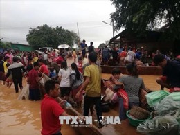 Hội Chữ thập đỏ Việt Nam hỗ trợ nhân dân Lào 50.000 USD