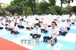 Đoàn viên, thanh niên các trường THPT ở Hà Nội thi tìm hiểu 2 bộ quy tắc ứng xử