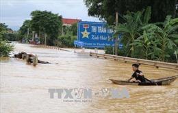 Các địa phương khắc phục hậu quả mưa lũ, tăng máy bơm tiêu úng