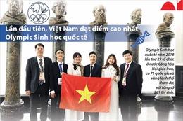 Việt Nam đoạt liền 3 Huy chương vàng Olympic Sinh học quốc tế
