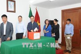 Việt Kiều tại Mexico ủng hộ nhân dân Lào bị ảnh hưởng vụ vỡ đập thủy điện