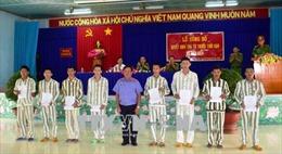 Tây Ninh: 42 phạm nhân được tha tù trước thời hạn