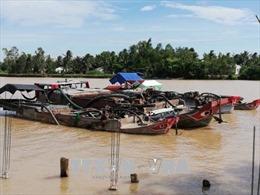 Phạt hơn 800 triệu đồng đối với các hành vi 'cát tặc' ở Trà Vinh