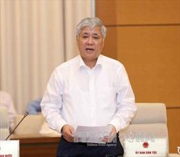 Tiến hành chất vấn Bộ trưởng, Chủ nhiệm Ủy ban Dân tộc Đỗ Văn Chiến
