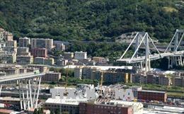 Thảm họa sập cầu tại Italy: Thủ tướng Conte ban bố tình trạng khẩn cấp