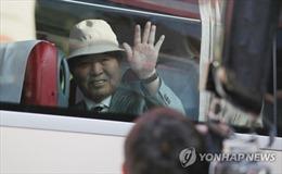 Đoàn Hàn Quốc tới địa điểm tổ chức sự kiện đoàn tụ các gia đình ly tán