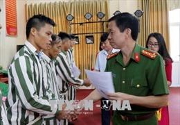 65 phạm nhân tại trại giam Hồng Ca (Yên Bái) được đặc xá