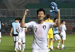 ASIAD 2018: Son Hueng-min quyết tâm cho trận chung kết với Olympic Nhật Bản