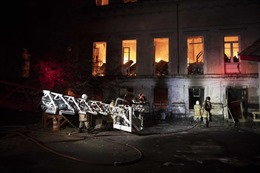 Brazil hé lộ nguyên nhân vụ hỏa hoạn tại Bảo tàng Quốc gia Rio de Janeiro