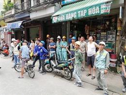 Không có hiện tượng nghiêng lún tòa nhà tại Lương Yên do dư chấn động đất