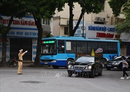 Phân luồng giao thông TPHồ Chí Minh phục vụ Quốc tang nguyên Chủ tịch nước Lê Đức Anh