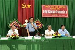 Lãnh đạo tỉnh Bình Định đối thoại với người dân xã Mỹ An, huyện Phù Mỹ