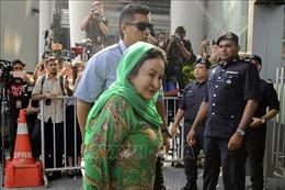 Bắt giữ vợ cựu Thủ tướng Malaysia phục vụ điều tra tham nhũng