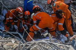 Cộng đồng quốc tế hỗ trợ các nạn nhân tại Palu sau thảm hoạ kép