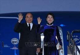 Thủ tướng lên đường dự Hội nghị Cấp cao Hợp tác Mê Công – Nhật Bản lần thứ 10